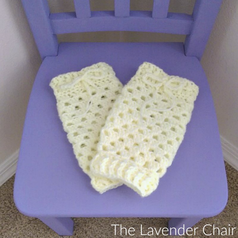 Granny Stitch Baby Legwarmers Crochet Pattern The Lavender Chair