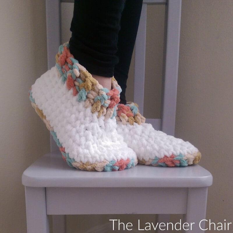 Cloud 9 Slippers Crochet Pattern
