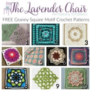 FREE Granny Square Motif Crochet Patterns