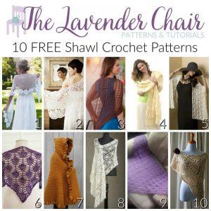 FREE Shawl Crochet Patterns