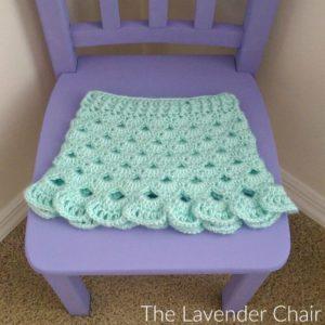 Stacked Shells Baby Skirt Crochet Pattern