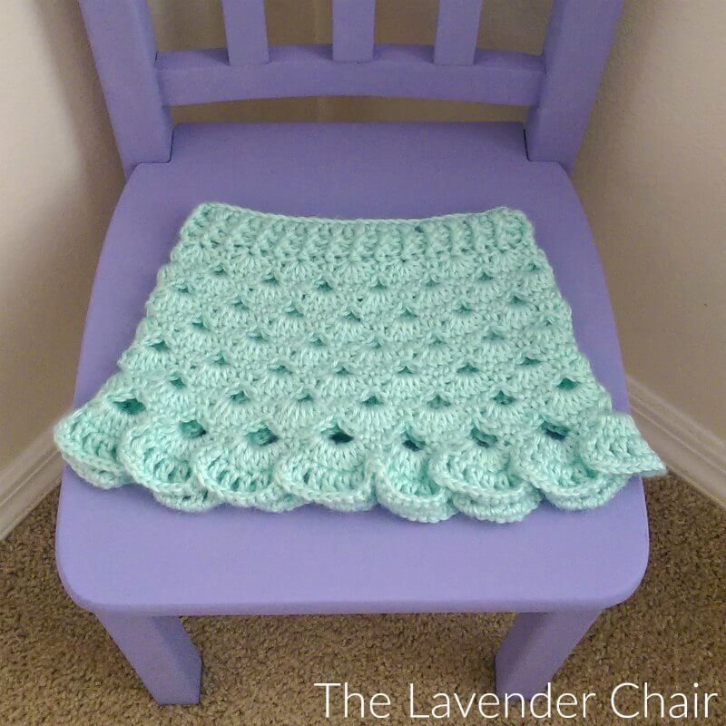 Stacked Shells Baby Skirt Crochet Pattern The Lavender Chair