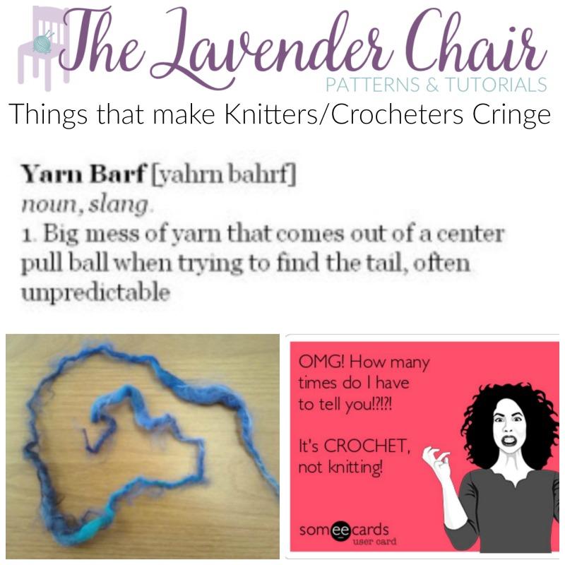 6 Things That Make Crocheters/Knitters Cringe