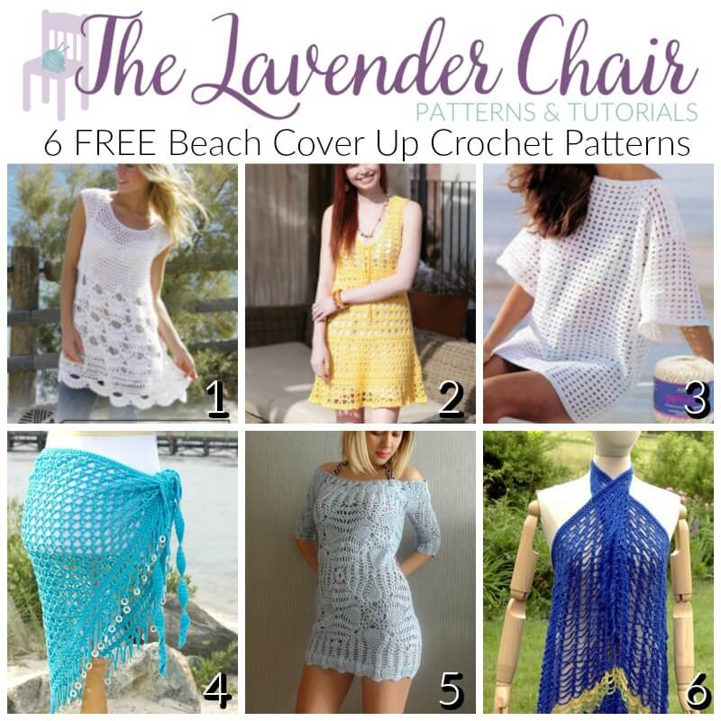 FREE Beach Cover Up Crochet Patterns