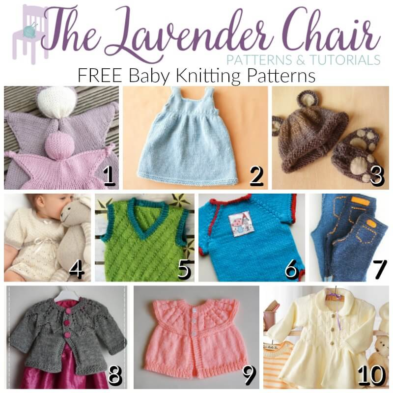FREE Baby Knitting Patterns