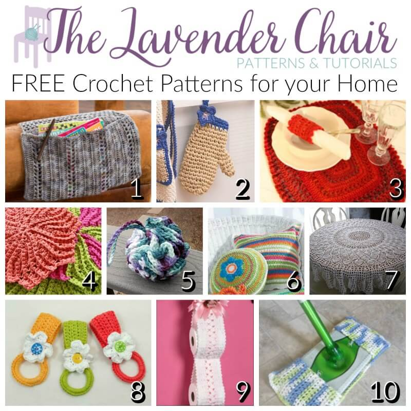 FREE Crochet Patterns For Your Home