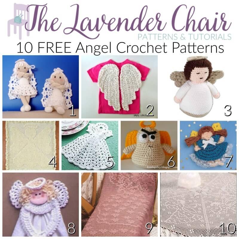 10 FREE Angel Crochet Patterns