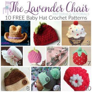FREE Baby Hat Crochet Patterns
