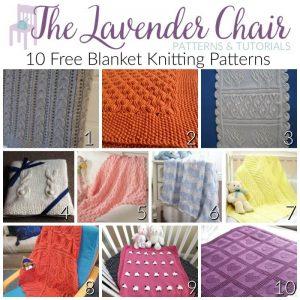 10 FREE Blanket Knitting Patterns