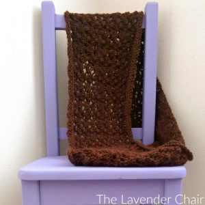 Lacy Infinity Cowl Knitting Pattern