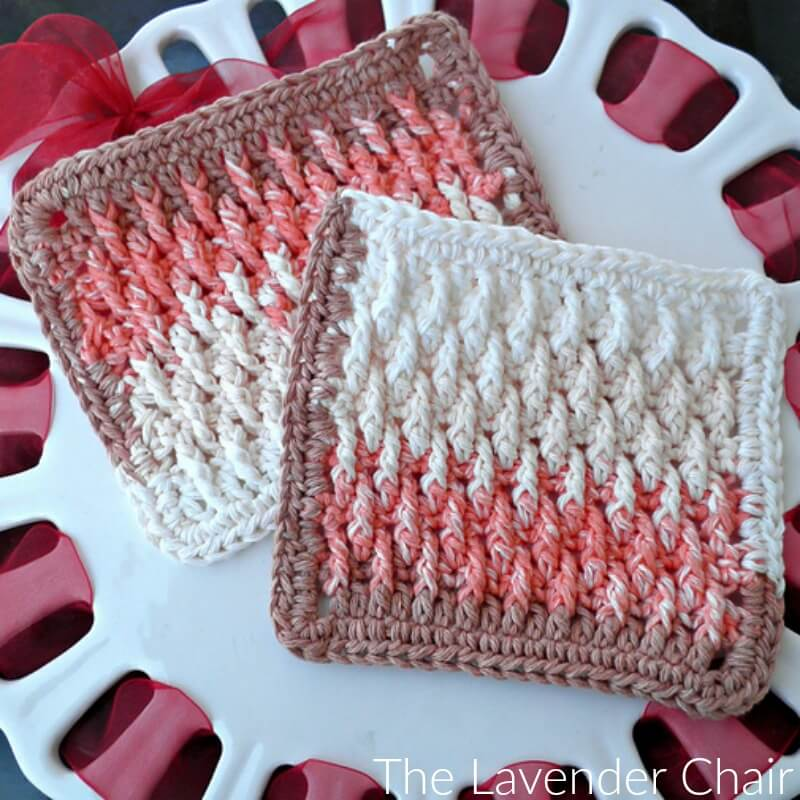 Textured Dishcloth Crochet Pattern