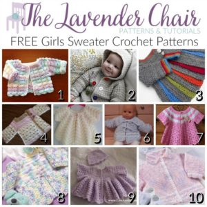 FREE Girls Sweater Crochet Patterns