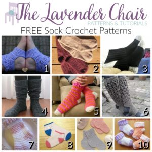 FREE Sock Crochet Patterns for Everyone