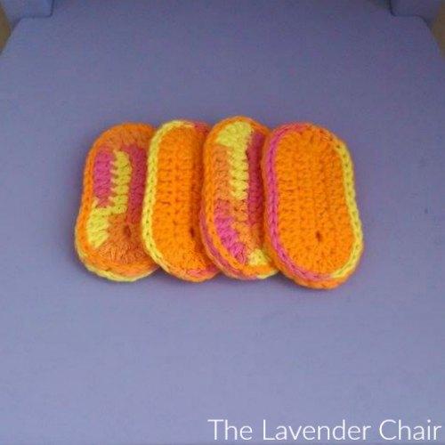 Teething Biscuit Crochet Pattern