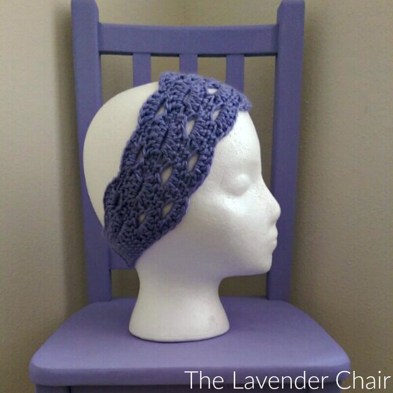Stacked Shells Headband Crochet Pattern