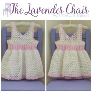 Valerie's First Birthday Dress (12-18 months) Crochet Pattern