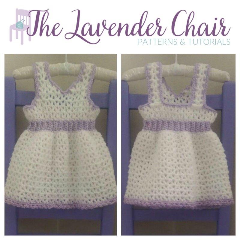 Valerie's First Birthday Dress (Newborn) Crochet Pattern
