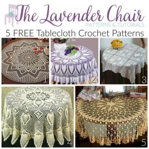 5 FREE Tablecloth Crochet Patterns