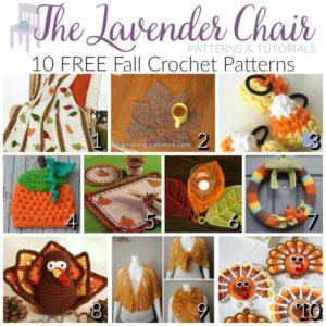 FREE Fall Crochet Patterns