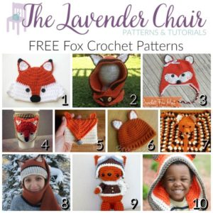 FREE Fox Crochet Patterns