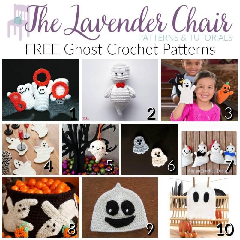 FREE Ghost Crochet Patterns