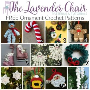 150 free christmas crochet patterns the lavender chair decorate your christmas trees with one or several of these free crochet ornament patterns dt1010fo