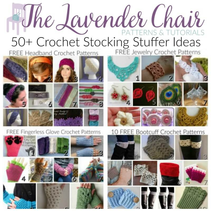 50+ Crochet Stocking Stuffer Ideas
