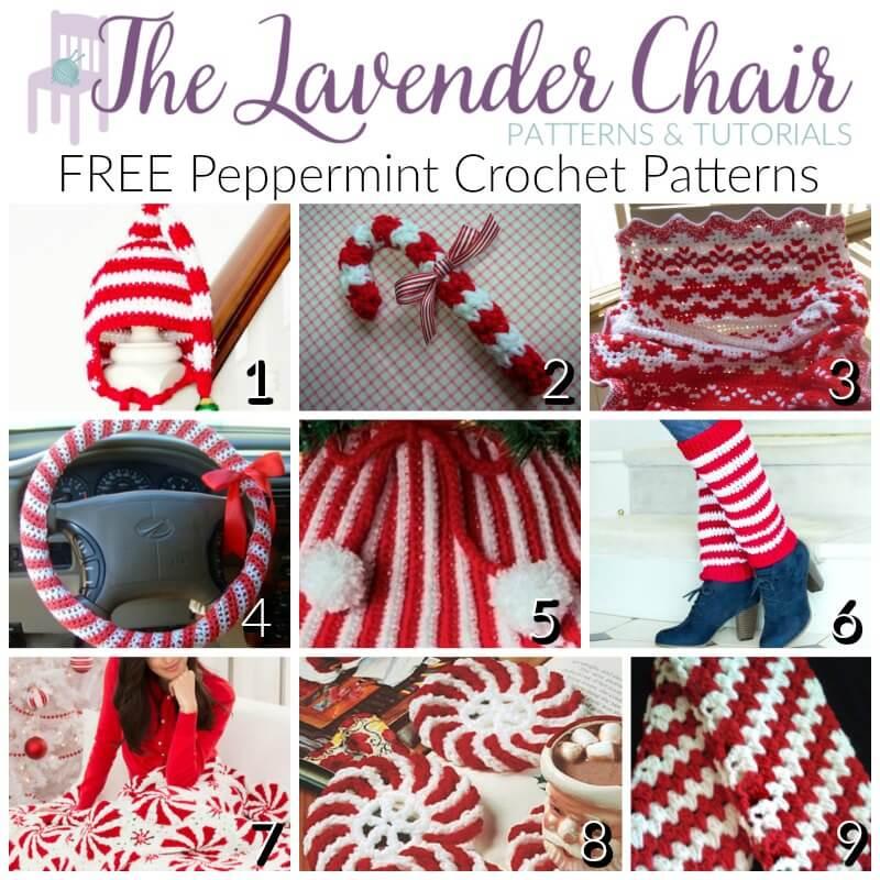 FREE Peppermint Crochet Patterns