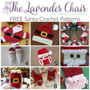 FREE Santa Crochet Patterns