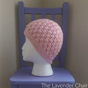 Lazy Daisy Beanie Crochet Pattern