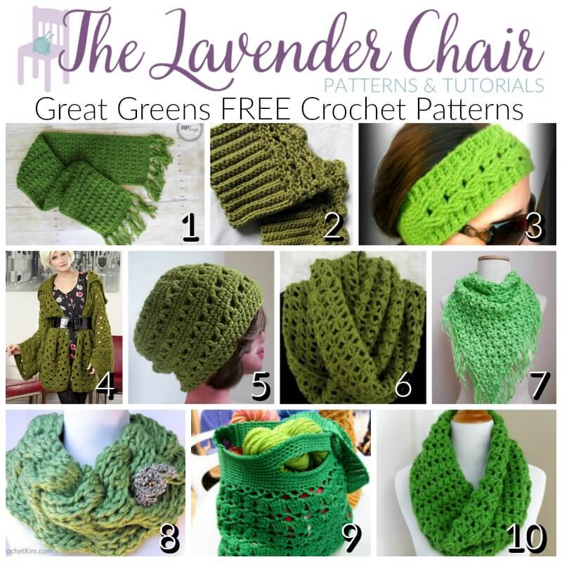 Great Green FREE Crochet Patterns