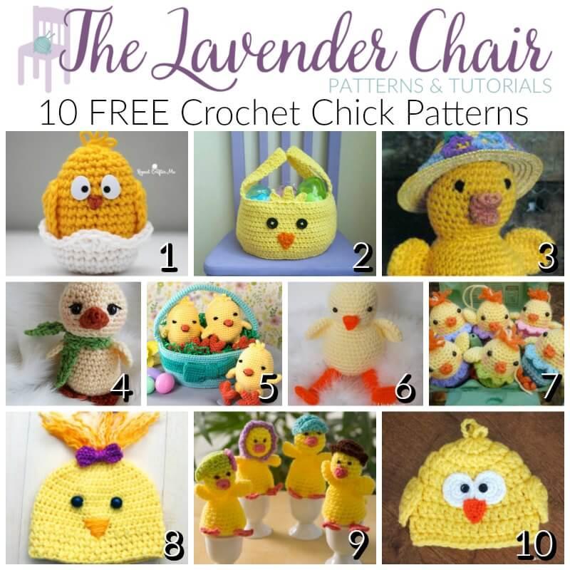 FREE Crochet Chick Patterns