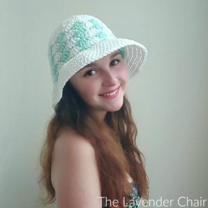 Simple Shells Floppy Sun Hat Crochet Pattern