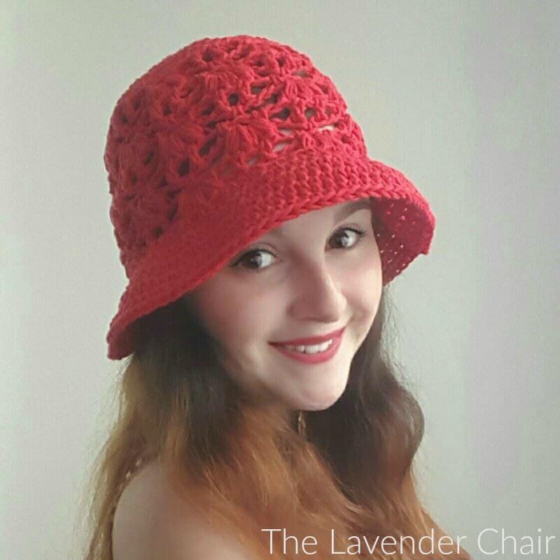 Weeping Willow Sun Hat (Adult) Crochet Pattern