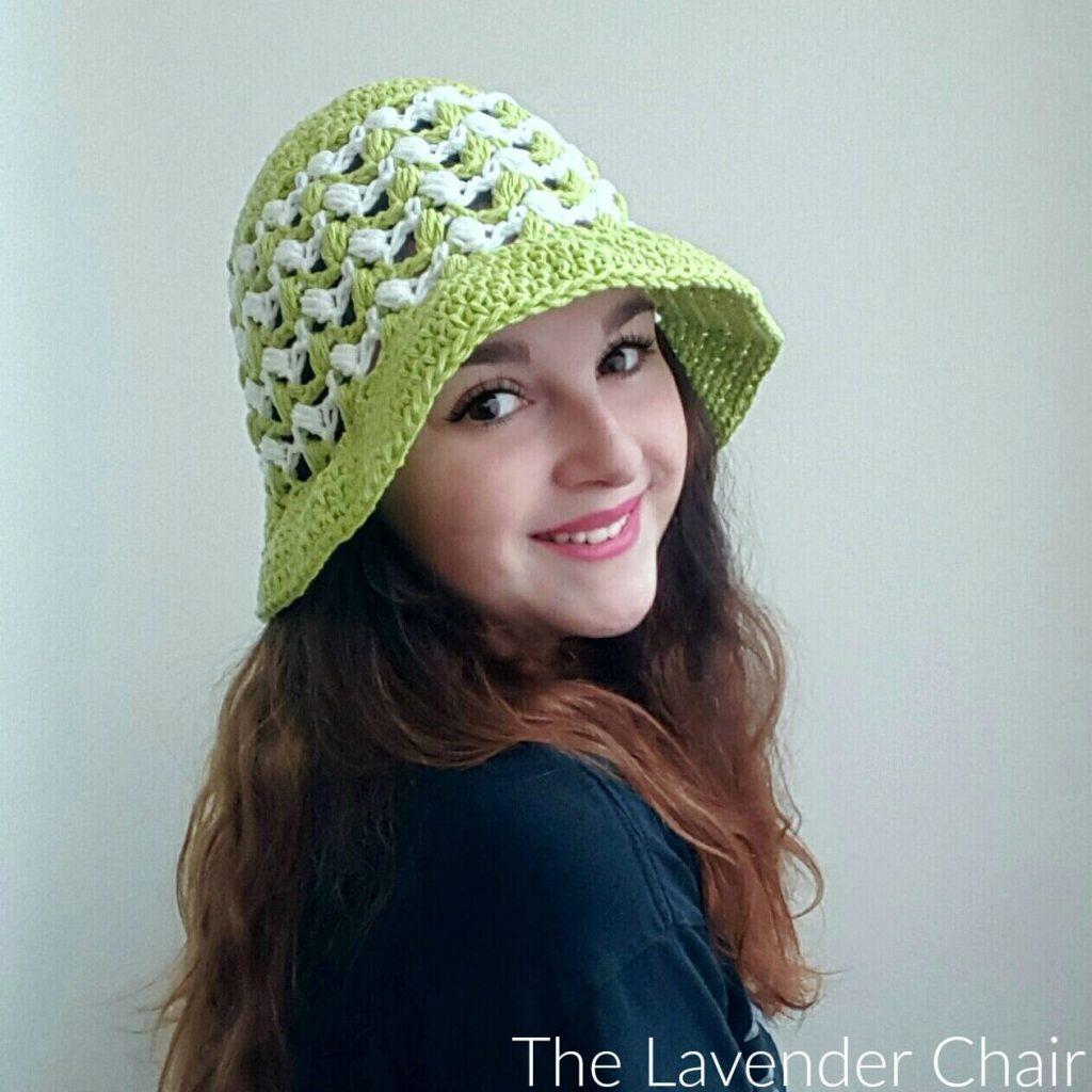 Ziggle Puff Summer Sun Hat Crochet Pattern
