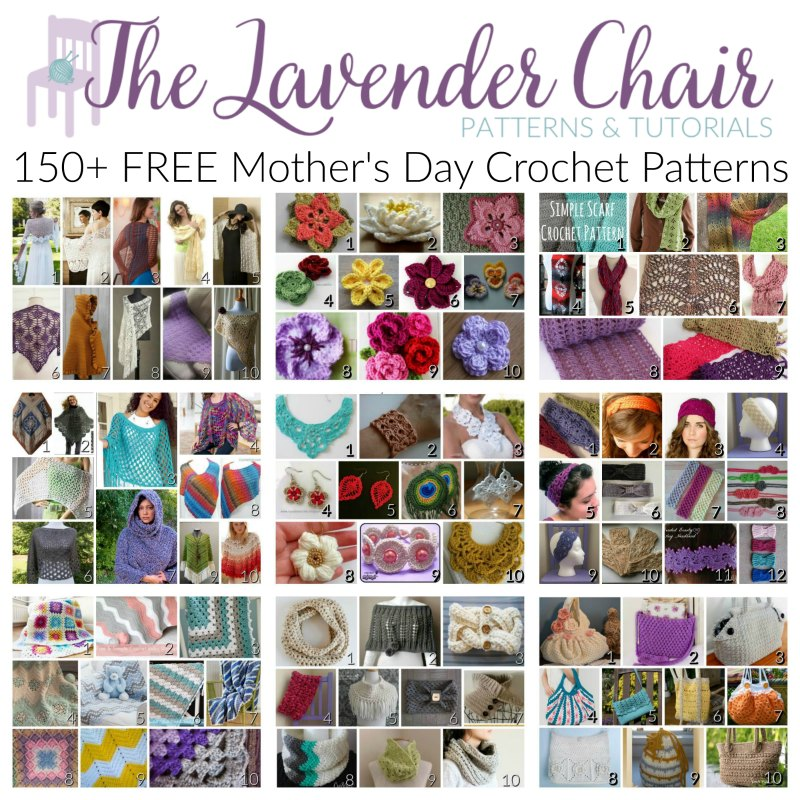 Over 150+ FREE Mother's Day Crochet Patterns