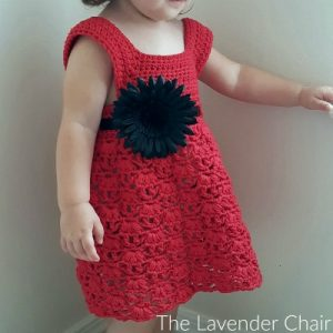 Weeping Willow Toddler Dress Crochet Pattern