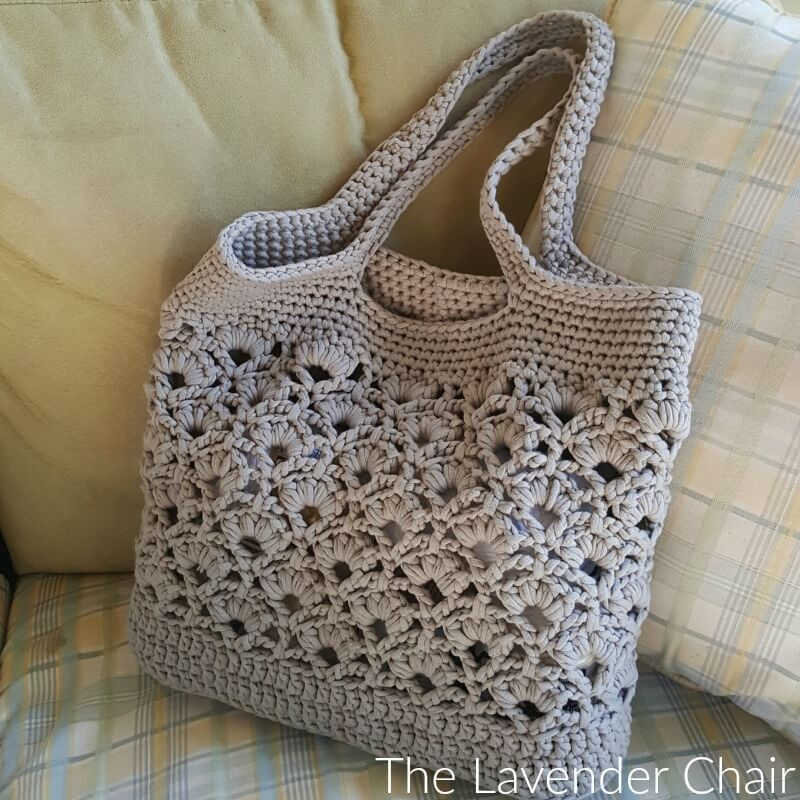 Daisy Fields Market Tote Crochet Pattern