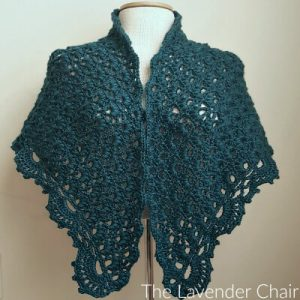 Daisy Fields Shawl Crochet Pattern