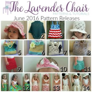 June 2016 Pattern Releases