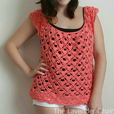 Gemstone Lace Top Crochet Pattern