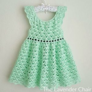Gemstone Lace Toddler Dress Crochet Pattern