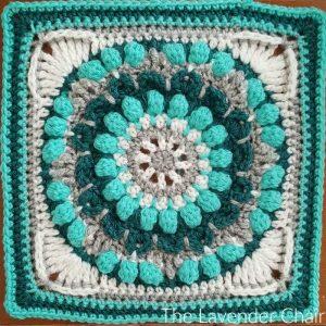 Petunia Roundabout Mandala Square Crochet Pattern