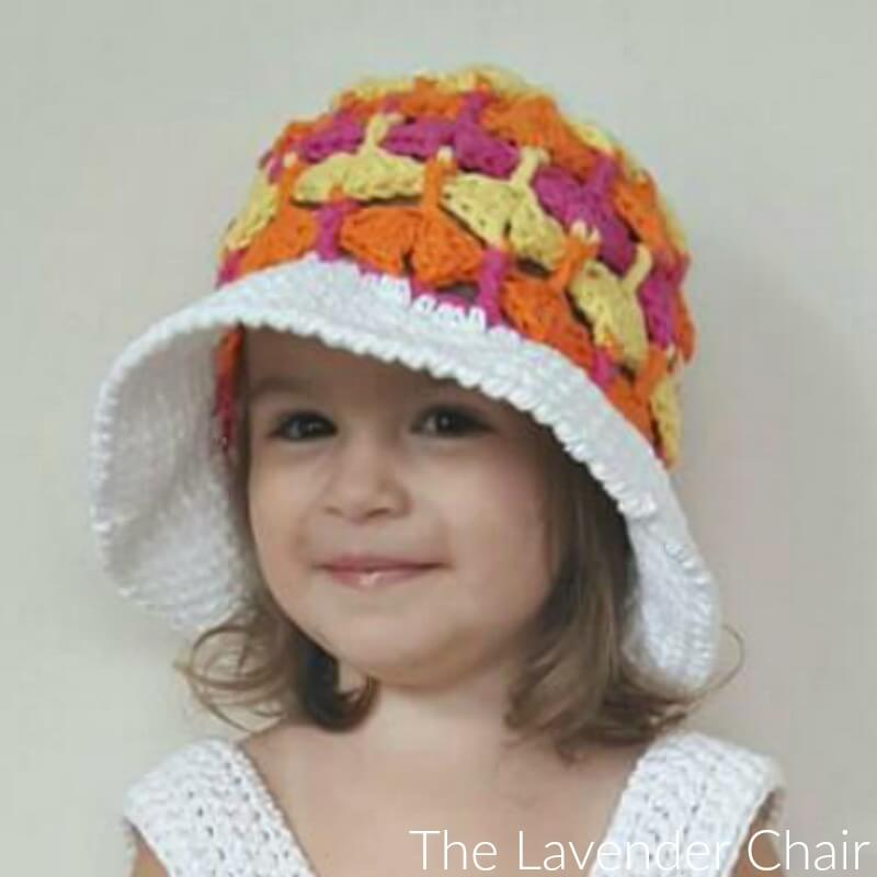 Quiver Fans Sun Hat Crochet Pattern (Infant – Child)