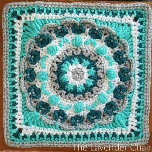 Chrysanthemum Manadala Square Crochet Pattern