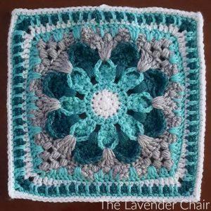 Crazy Daisy Mandala Square Crochet Pattern