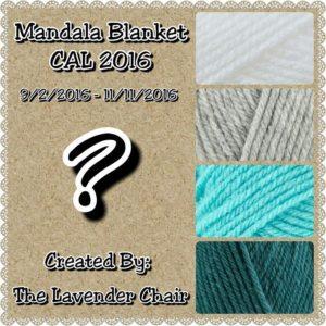 Mandala Blanket CAL 2016