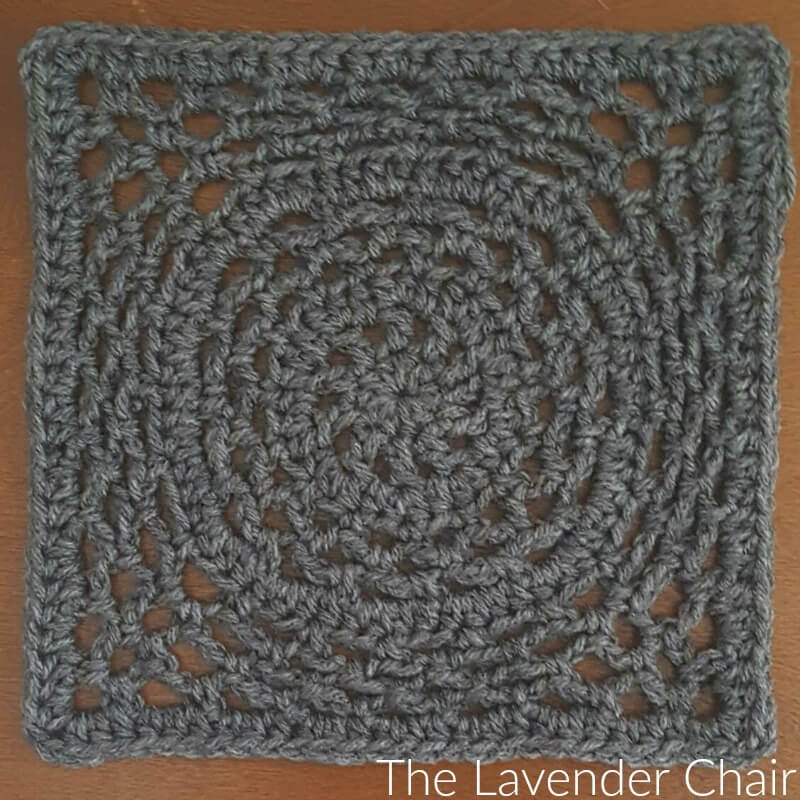 Ring Around the Rosie Square Crochet Pattern