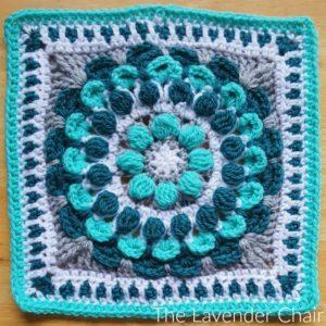Marigold Mandala Square Crochet Pattern