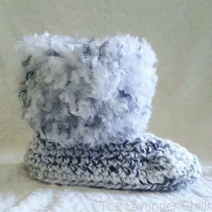 Boots with the Fur Crochet Pattern